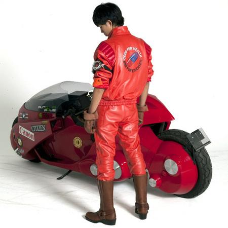 Akira Red Jacket