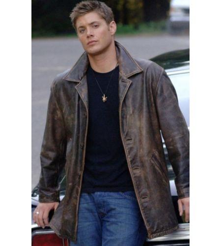 Distressed Brown Supernatural Jacket