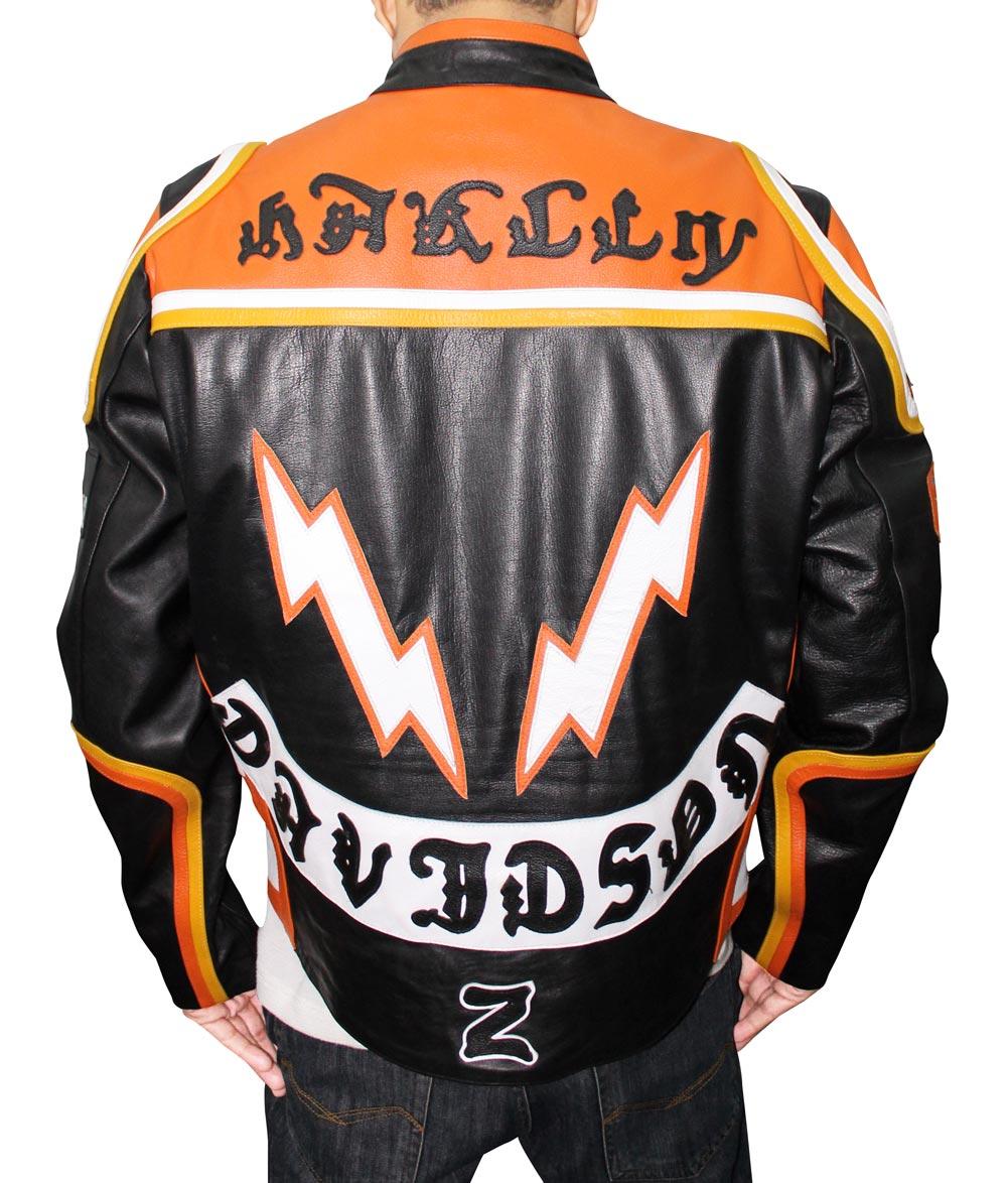 Harley Davidson Biker Leather Jacket For Men