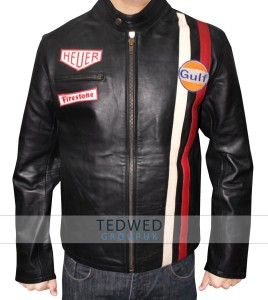 M.D Gregory Leather Jacket