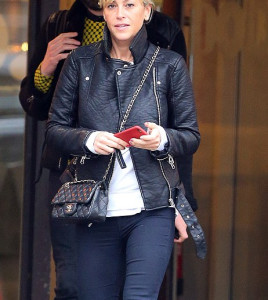 Nicole Appleton Valentines Day Leather Jacket