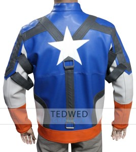 The First Avengers Captain America Jacket