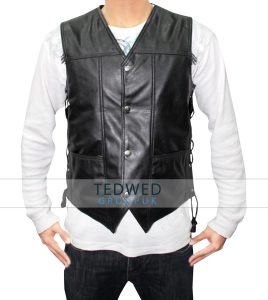Walking Dead Daryl Dixon Leather Vest