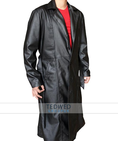 Wesley Snipes Blade Long Trench Coat