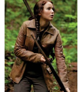 Hunger Games Jennifer Lawrence Katniss Everdeen Jacket