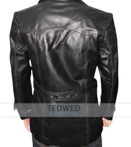 Christopher Eccleston Leather Coat