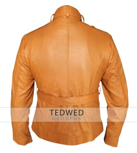 Brown Emma Swan leather Jacket