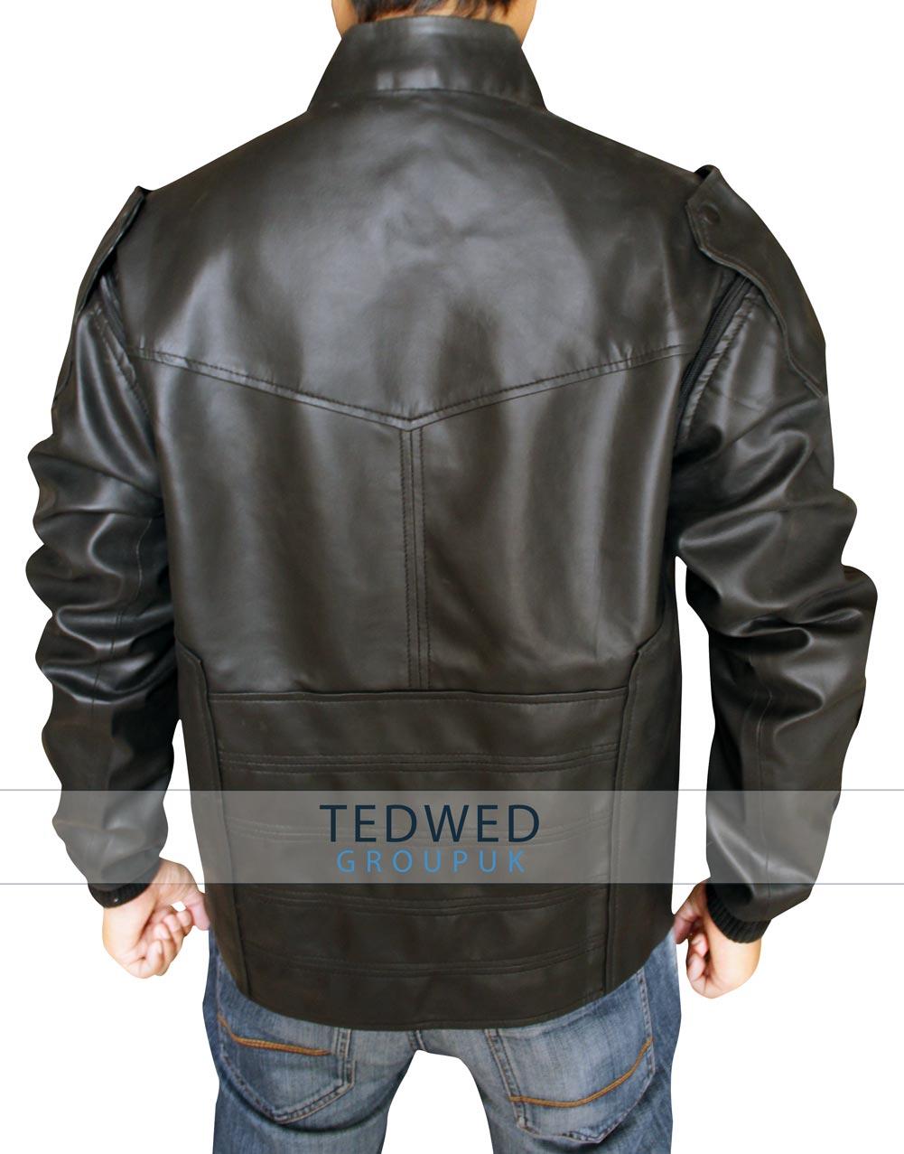 Bucky Barnes Leather Vest