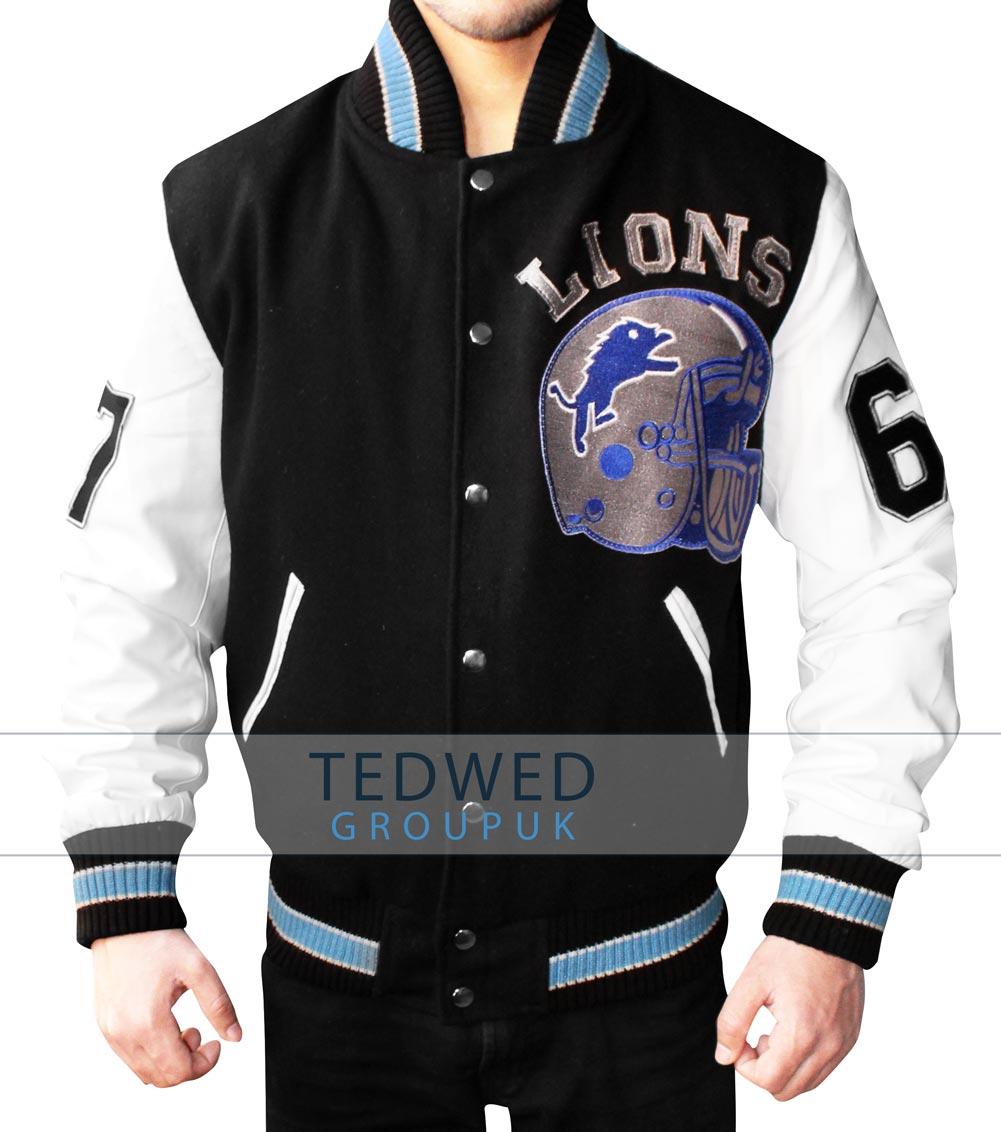 Detroit lions Varsity Jacket