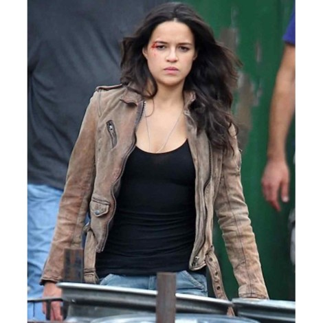 Fast and Furious 7 Letty Ortiz Michelle Rodriguez Jacket