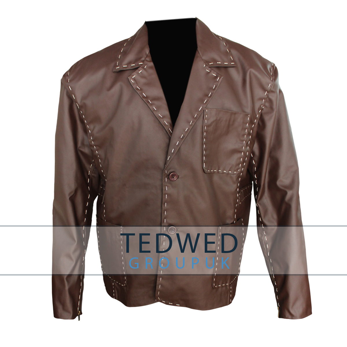 Ian Sha Leather Coat Jacket Fast and Furious 7
