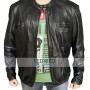 Oblow Zac Efron 17 Again Leather Jacket
