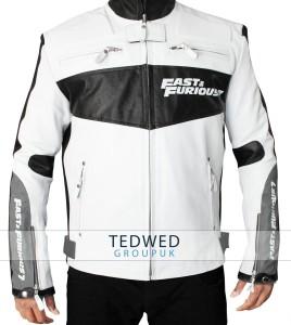 Premiere Vin Diesel White Jacket