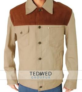 Rick Grimes Season 3 The Walking Dead Denim Fabric Jacket