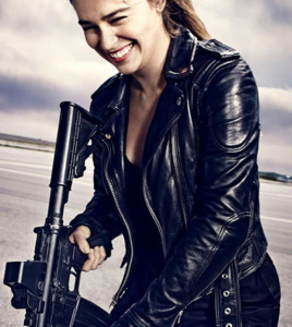 Sarah Connor Emilia Clarke Terminator Genisys Jacket