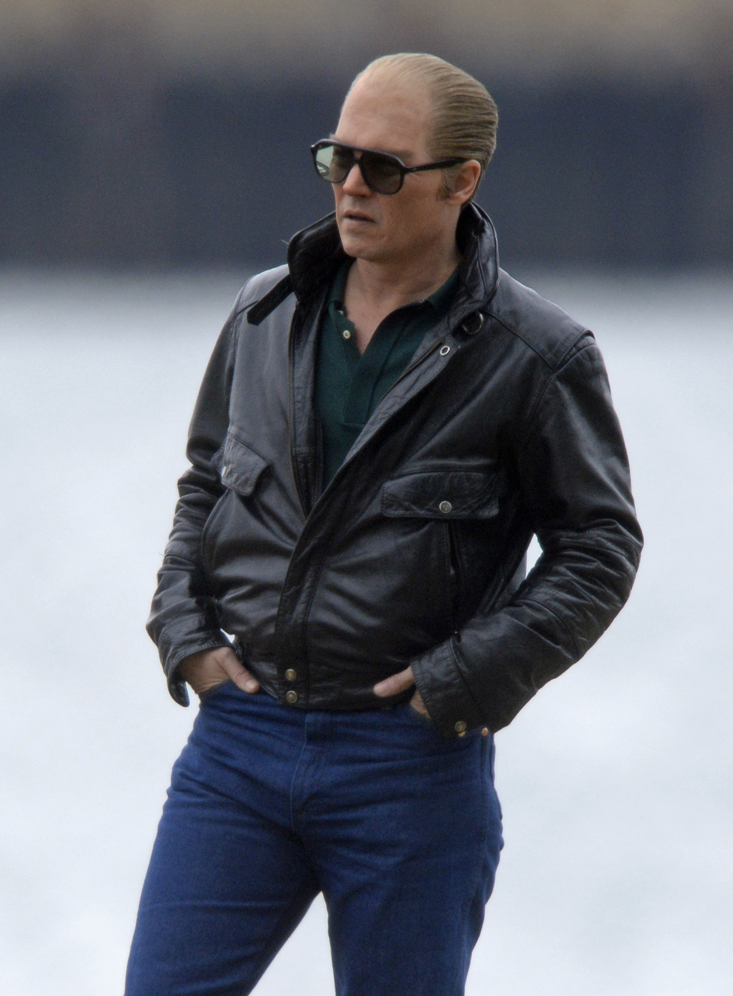 Johnny Depp Whitey Bulger Black Mass Jacket