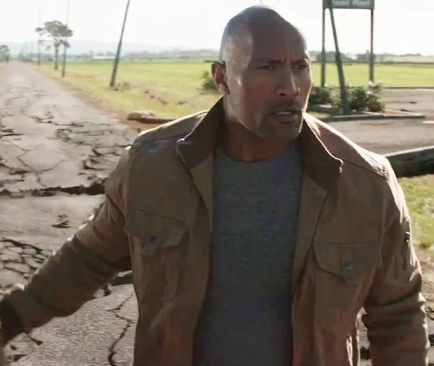 Dwayne Johnson 2015 San Andrea Jacket