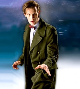 11TH Doctor Who Green Long Coat