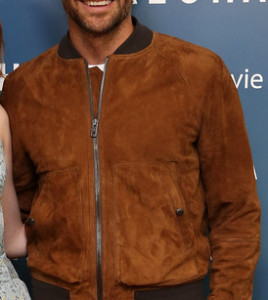 Bradley Cooper ALOHA Suede Leather Jacket