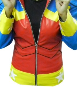 Classyak Wonder Woman Leather Jacket