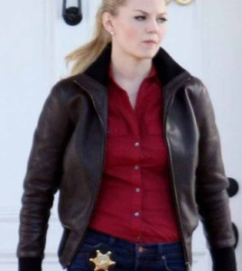 Jennifer Morrison Brown Jacket