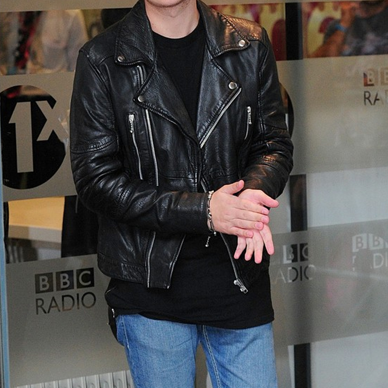 Conor Maynard leather Jacket