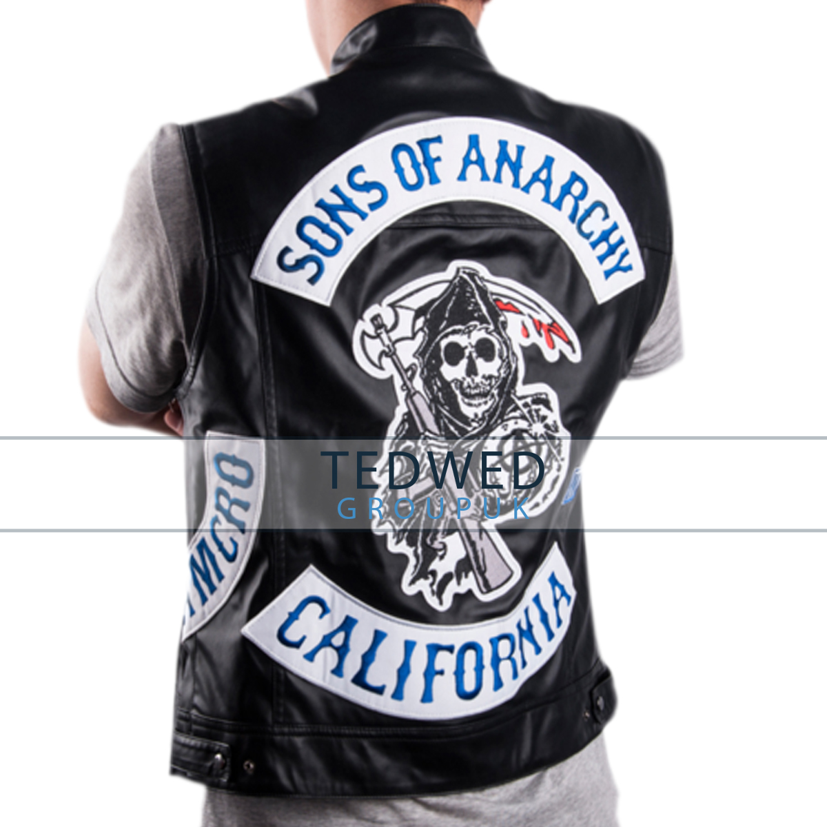 sons of anarchy jacket. Black Bedroom Furniture Sets. Home Design Ideas