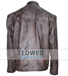 Tom Cruise Distressed Leather Jacket