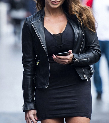 Lauren Goodger Leather Jacket