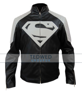 Superman Black and Grey Jacket