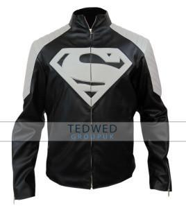 Superman Black and Grey Jacket