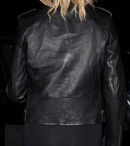 Chrissy Teigen leather Jacket