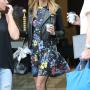 Heidi Klum Flaunts Jacket