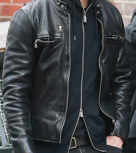 Justin Theroux leather Jacket