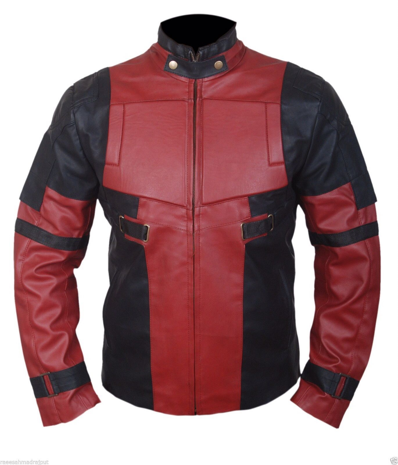 Red Black Deadpool Jacket