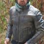 Gerard Butler Goes for Weekend Motorcycle Ride Jacket