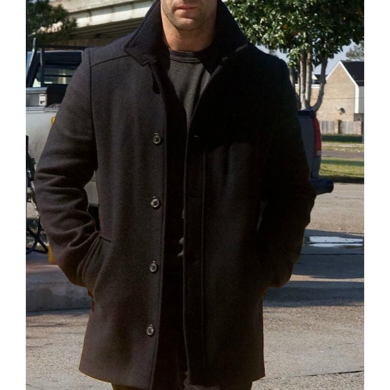 Jason Statham Mechanic Resurrection Wool Coat