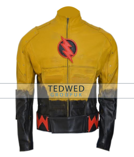Eobard Thawne Reverse Flash Leather Jacket