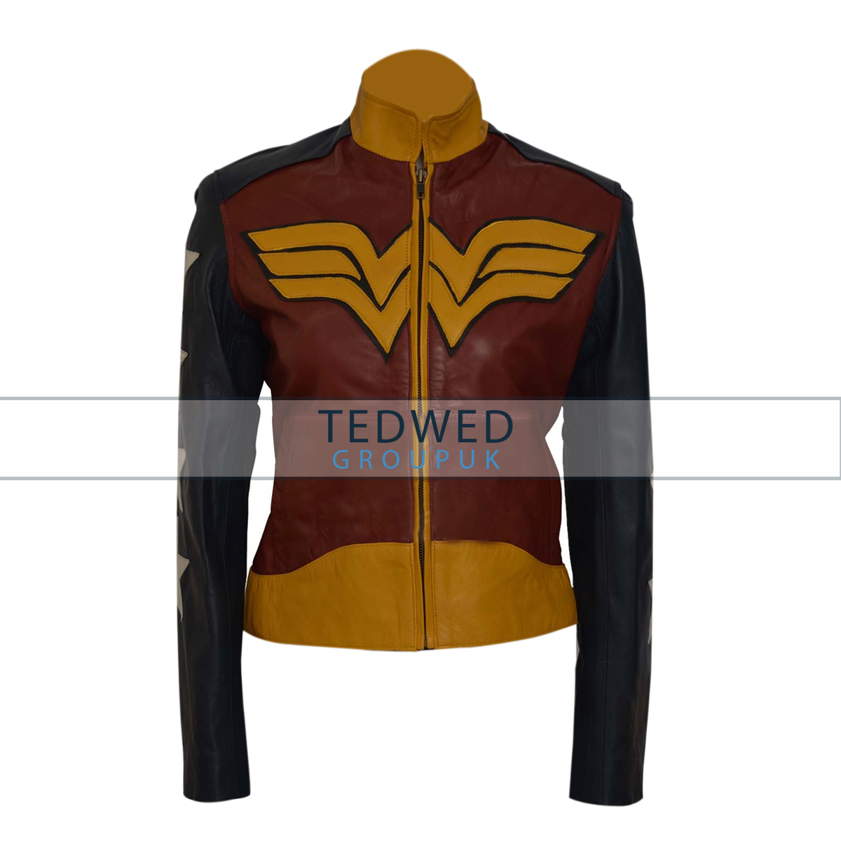 Wonder Woman Diana Prince Costume Leather Jacket