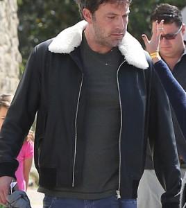 Ben Affleck Leather jacket