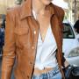 Gigi Hadid Leather Jacket