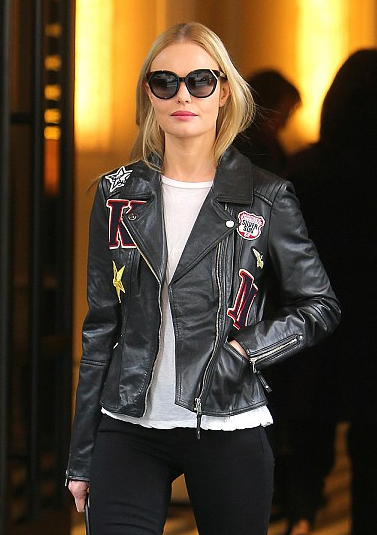 Kate Bosworth Rocked Biker Jacket