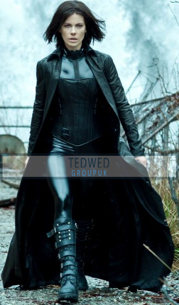 Kate Beckinsale Underworld Blood Wars Leather coat