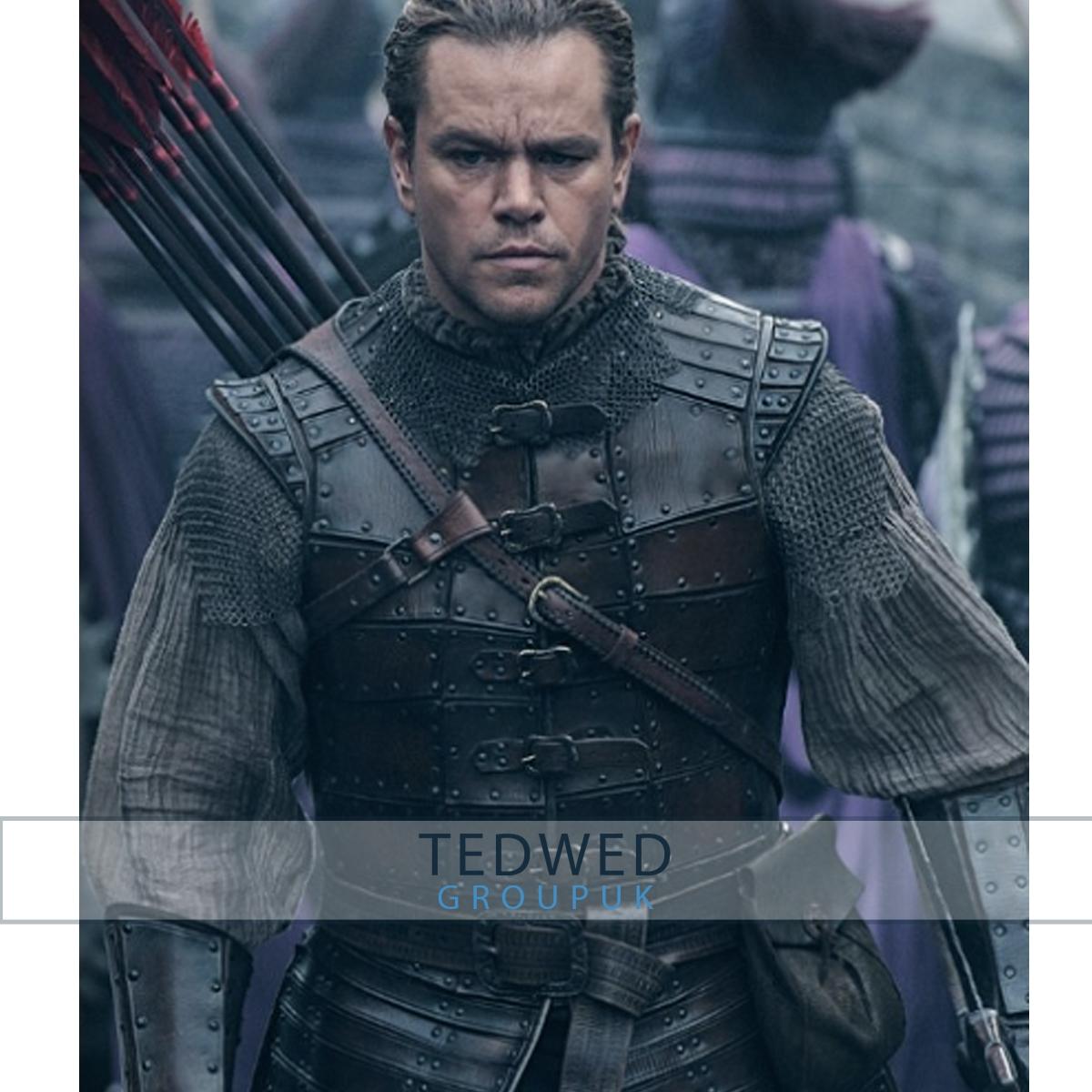 The Great Wall Matt Damon Jacket