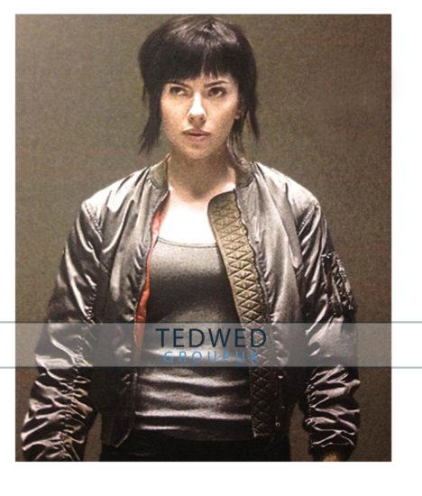 Ghost in the Shell Scarlett Johansson Jacket