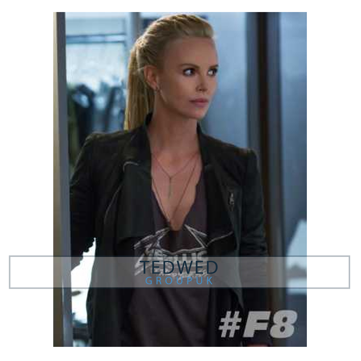 Villain Charlize Theron Fast and Furious 8 Jacket