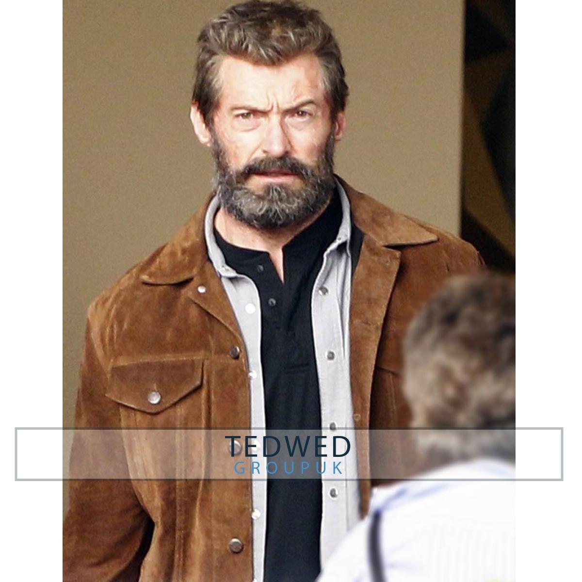 Wolverine 3 logan Hugh_jackman Jacket