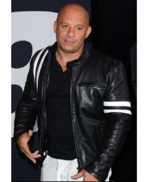 vin diese fast and furious 8 premiere jacket