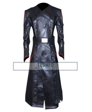 Captain America Avenger Red Skull Trench Coat