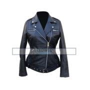 The Walking Dead Negan Jacket for Women